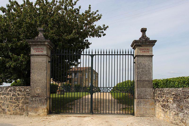 Photo du Monument Historique Château Canon situé à Saint-Emilion