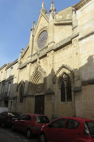 Photo du Monument Historique Chapelle des spiritains situé à Bordeaux