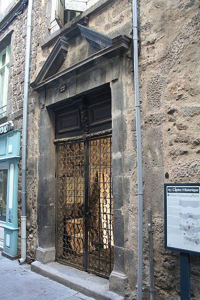 Photo du Monument Historique Hôtel Malaval situé à Agde
