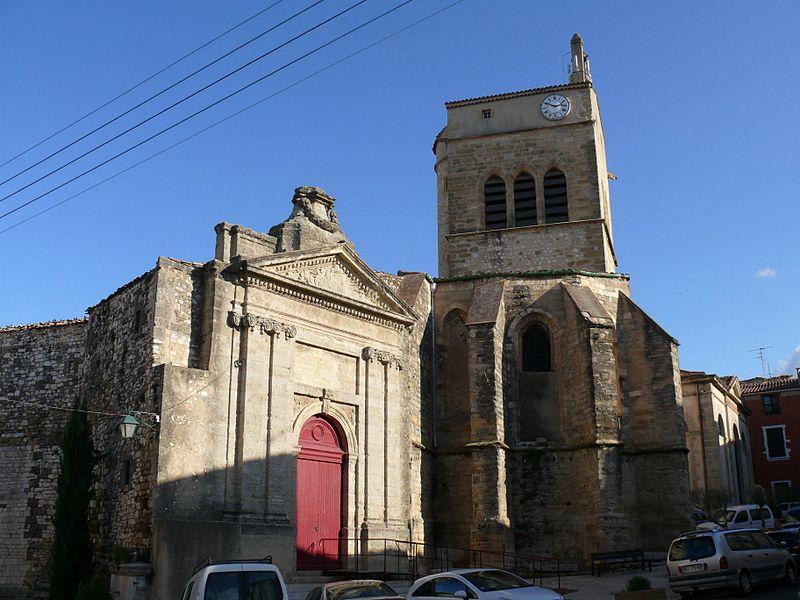 Photo du Monument Historique Chapelle des Pénitents, ancienne église paroissiale Saint-Jean-Baptiste situé à Aniane