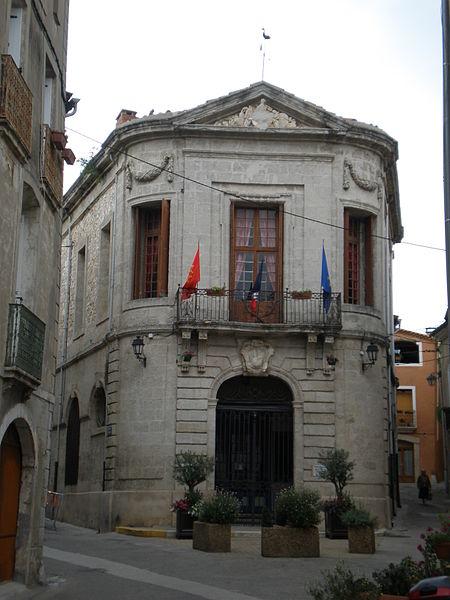 Photo du Monument Historique Hôtel de ville situé à Aniane