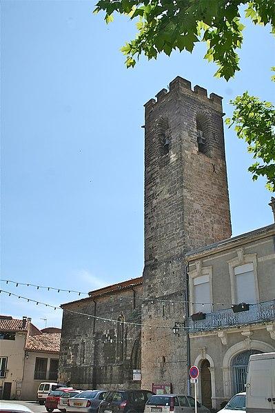 Photo du Monument Historique Eglise Saint-Julien situé à Aspiran
