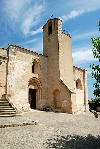 Photo du Monument Historique Eglise paroissiale Saint-Martial situé à Assas