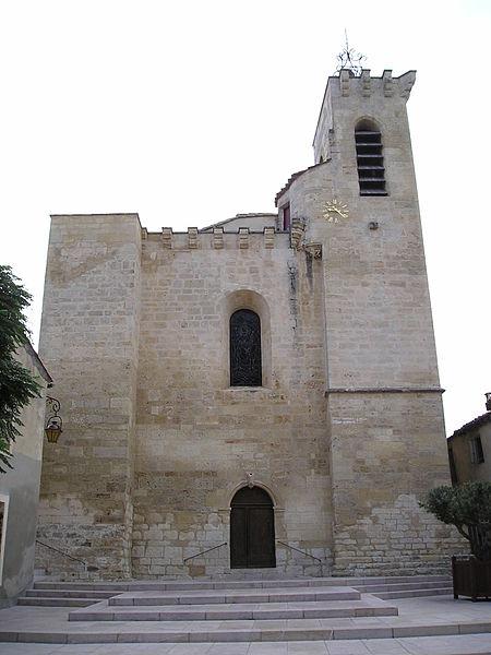 Photo du Monument Historique Eglise Saint-Julien et Sainte-Basilisse situé à Baillargues