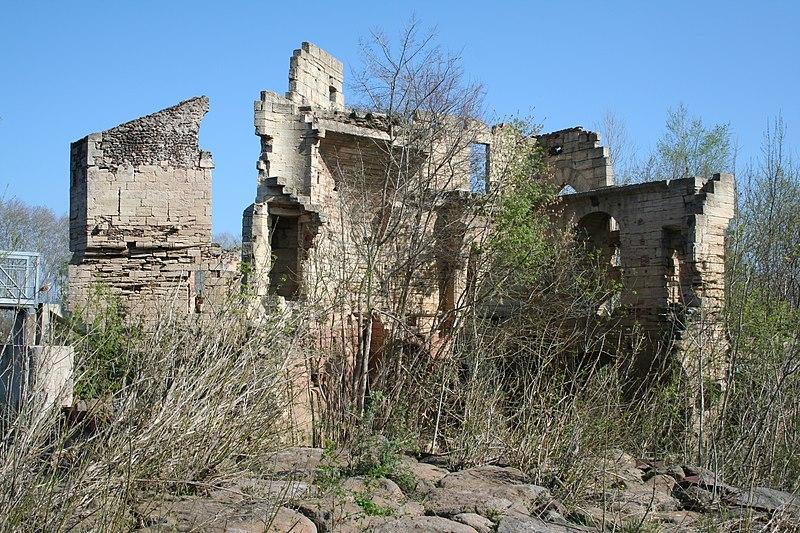 Photo du Monument Historique Ruines du moulin sur l'Hérault situé à Bessan
