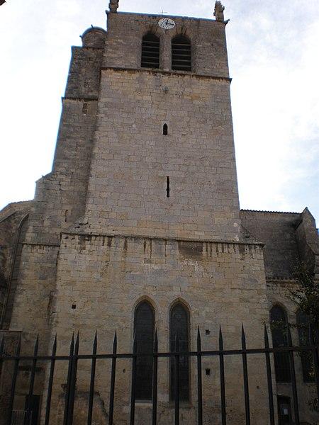 Photo du Monument Historique Ancienne abbaye Saint-Aphrodise situé à Béziers