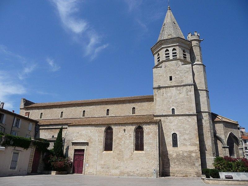 Photo du Monument Historique Eglise de la Madeleine situé à Béziers