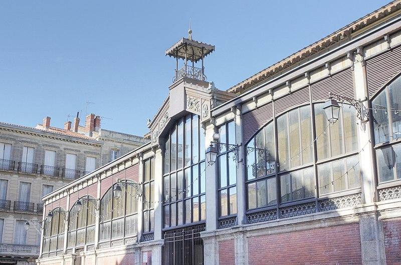 Photo du Monument Historique Halles centrales situé à Béziers