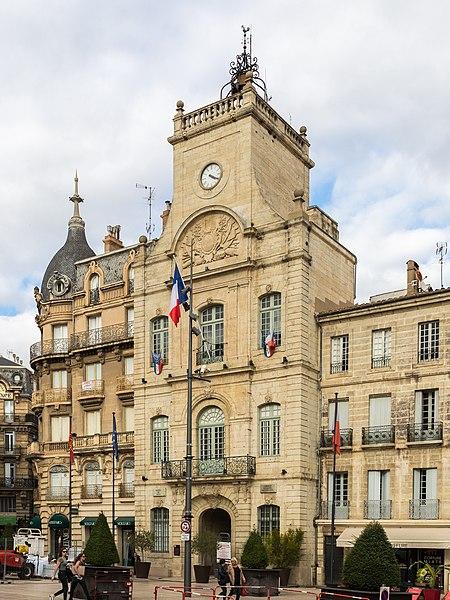Photo du Monument Historique Hôtel de ville situé à Béziers
