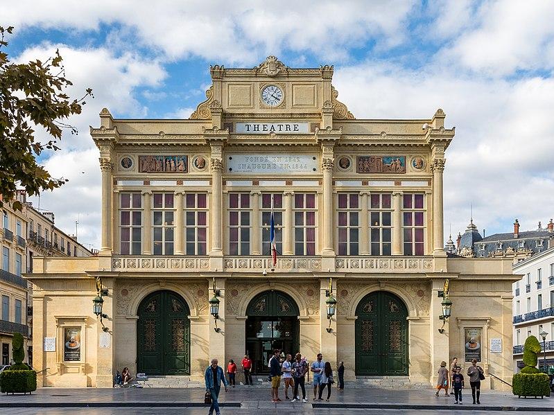 Photo du Monument Historique Théâtre situé à Béziers