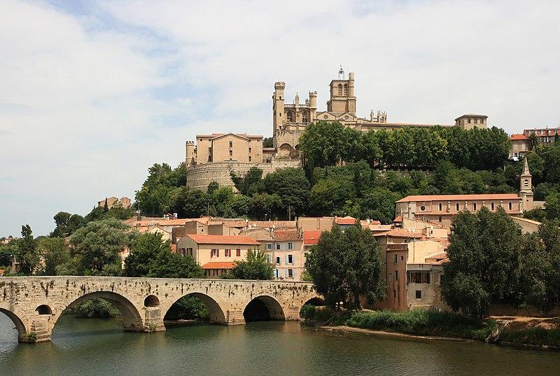 Photo du Monument Historique Vieux pont sur l'Orb situé à Béziers