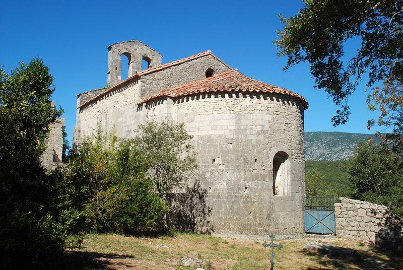 Photo du Monument Historique Chapelle Saint-Etienne d'Issensac situé à Brissac