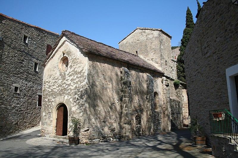 Photo du Monument Historique Eglise Saint-Martin situé à Cabrières