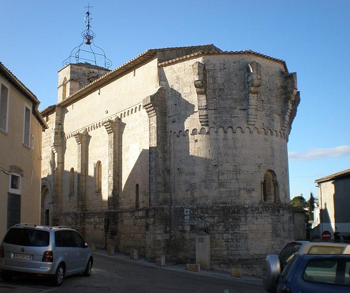 Photo du Monument Historique Eglise Saint-Jean-Baptiste situé à Castelnau-le-Lez