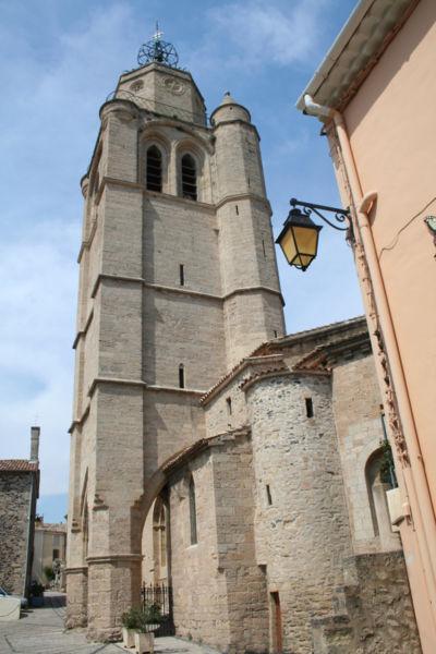 Photo du Monument Historique Eglise Saint-Gervais situé à Caux