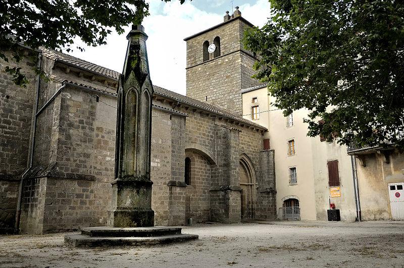 Photo du Monument Historique Eglise paroissiale Saint-Jean-Baptiste de Ceilhes situé à Ceilhes-et-Rocozels