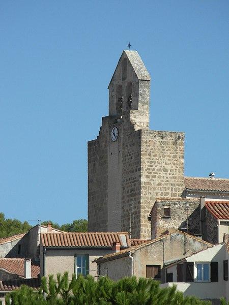 Photo du Monument Historique Eglise Saint-Antoine situé à Clapiers