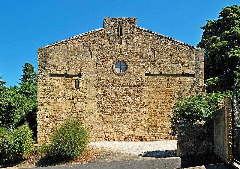 Photo du Monument Historique Eglise Notre-Dame-des-Pins situé à Espondeilhan
