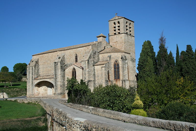 Photo du Monument Historique Eglise Saint-Hippolyte situé à Fontès