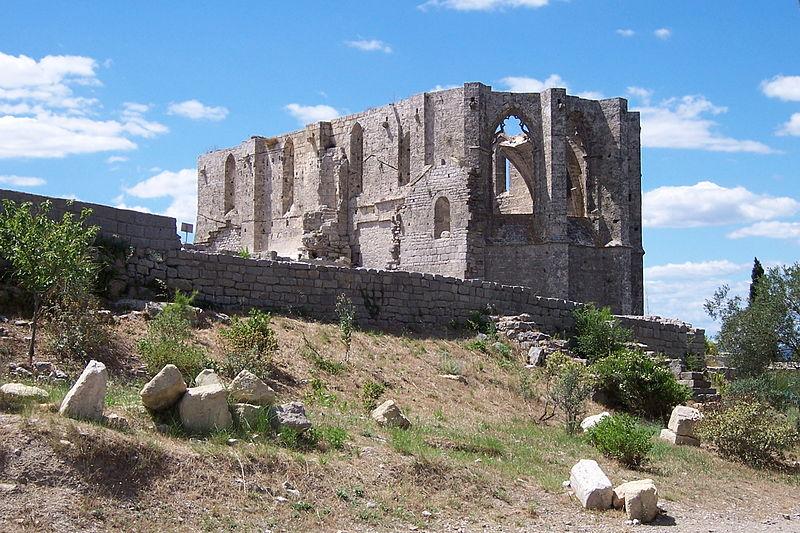 Photo du Monument Historique Ancienne abbaye Saint-Félix-de-Montceau situé à Gigean