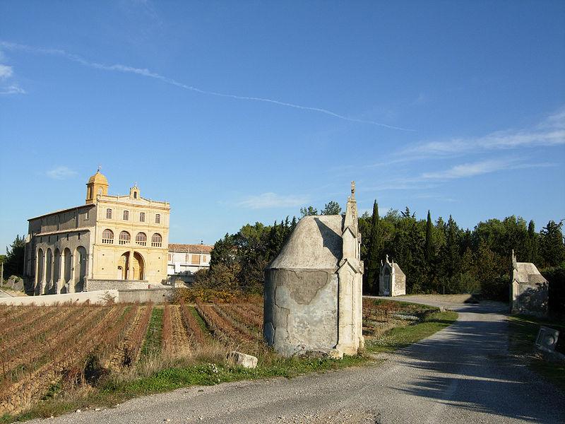 Photo du Monument Historique Chemin de croix de Notre-Dame-de-Grâce situé à Gignac