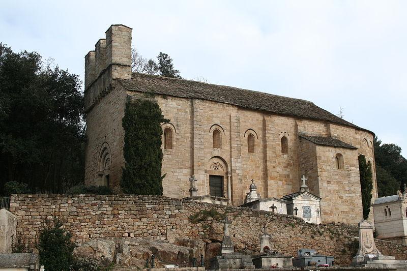 Photo du Monument Historique Eglise Saint-Pierre-de-Rhèdes situé à Lamalou-les-Bains
