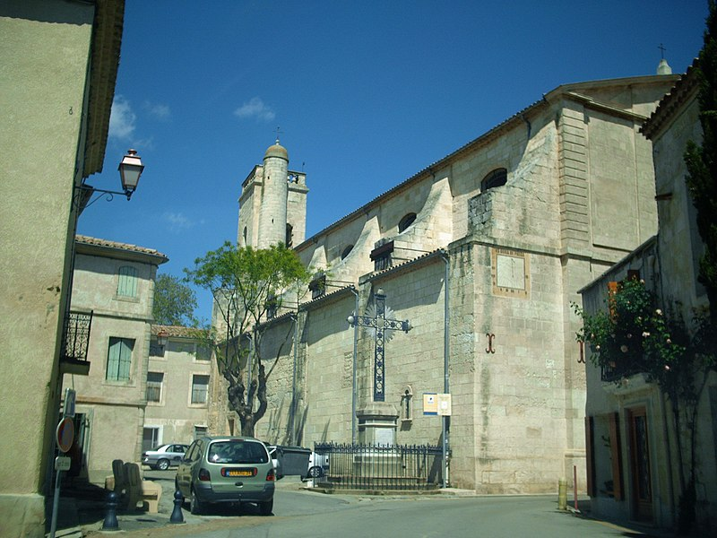 Photo du Monument Historique Eglise Saint-Martin situé à Lansargues