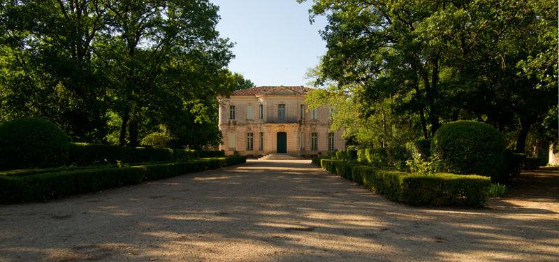 Photo du Monument Historique Château de Lengaran et son parc situé à Lavérune