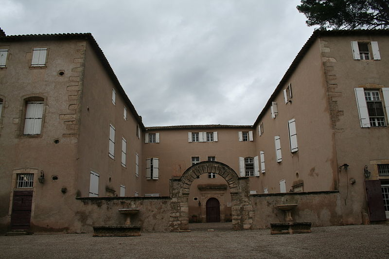 Photo du Monument Historique Château situé à Lézignan-la-Cèbe