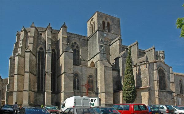 Photo du Monument Historique Ancienne cathédrale, actuelle église paroissiale Saint-Fulcran situé à Lodève