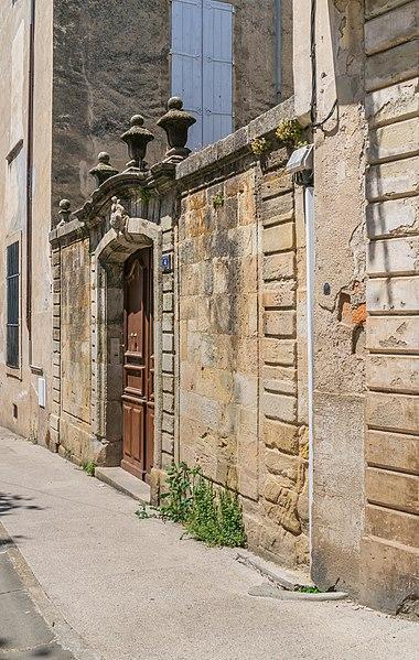 Photo du Monument Historique Ancien hôtel Albouy situé à Lodève