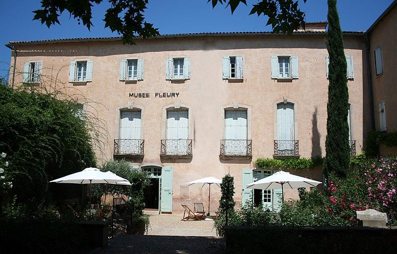 Photo du Monument Historique Hôtel de Fleury (Musée Dardé) situé à Lodève