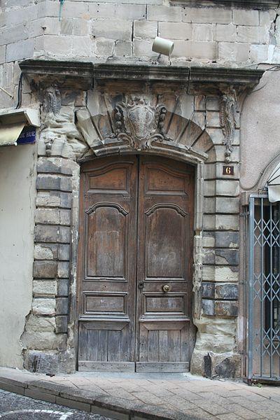 Photo du Monument Historique Maison situé à Lodève