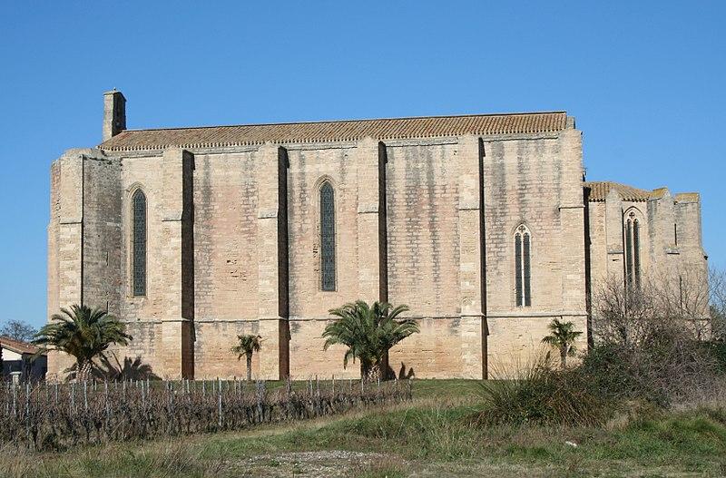 Photo du Monument Historique Eglise Sainte-Cécile situé à Loupian