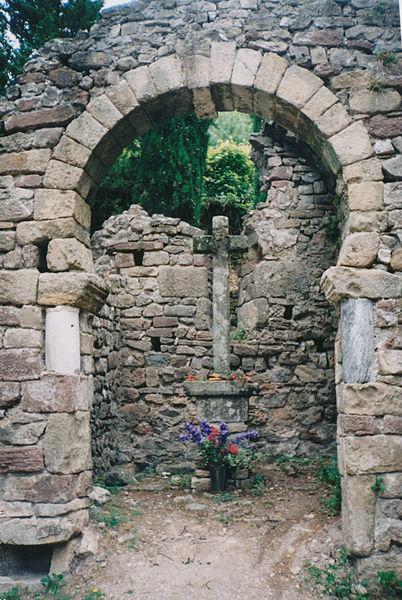 Photo du Monument Historique Ancienne chapelle Saint-Georges situé à Lunas