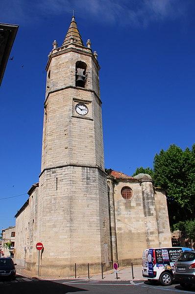 Photo du Monument Historique Eglise Saint-Sauveur situé à Marsillargues