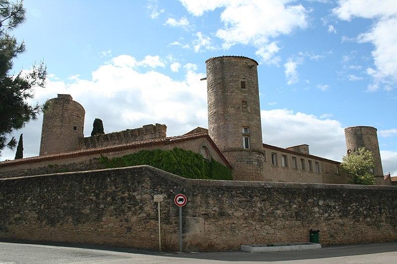 Photo du Monument Historique Château situé à Maureilhan