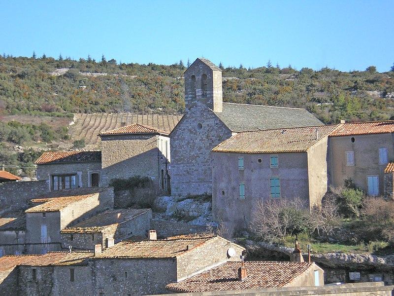 Photo du Monument Historique Eglise paroissiale Saint-Etienne situé à Minerve