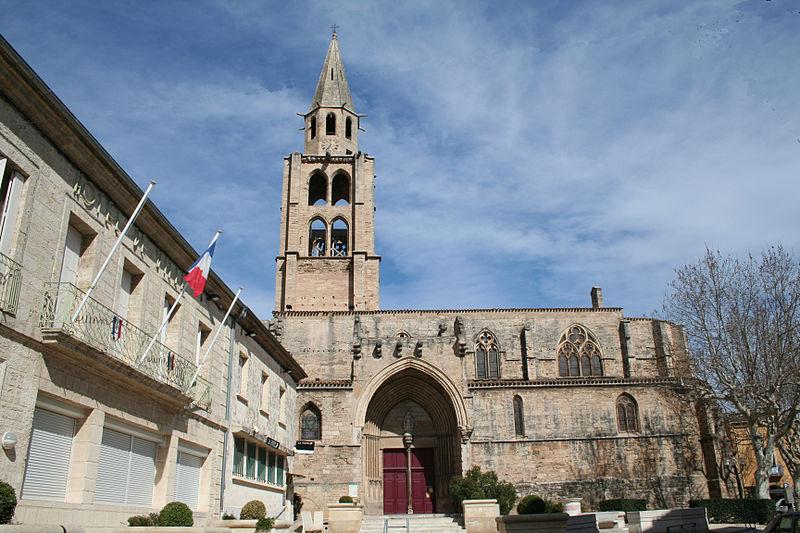 Photo du Monument Historique Eglise Saint-André situé à Montagnac