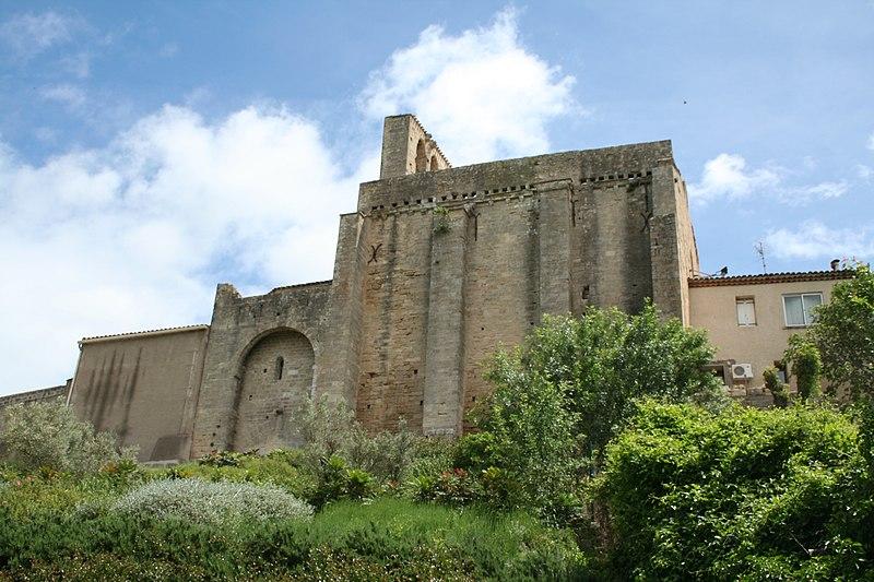 Photo du Monument Historique Ancienne église Saint-Pierre situé à Montbazin