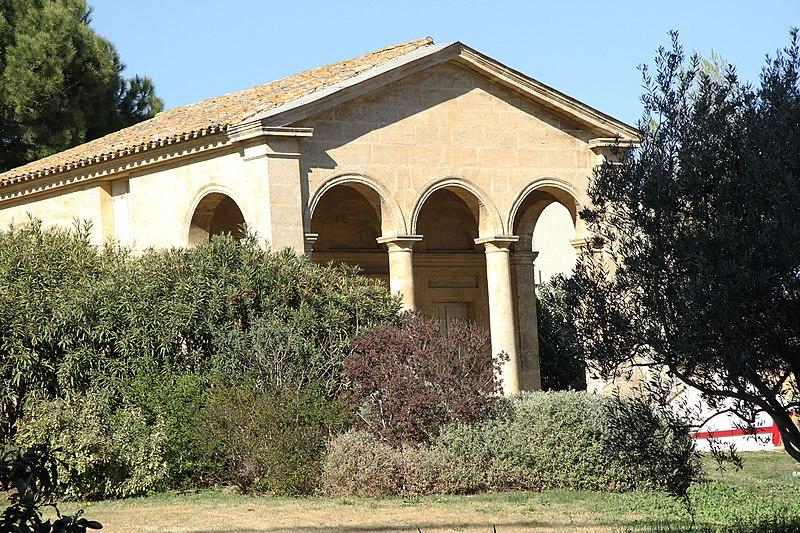 Photo du Monument Historique Ancien bureau d'octroi du Pont Juvénal situé à Montpellier