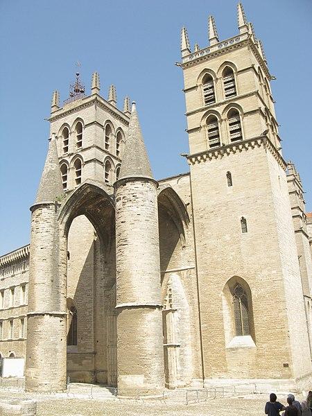 Photo du Monument Historique Cathédrale Saint-Pierre situé à Montpellier