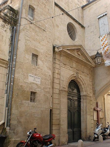 Photo du Monument Historique Eglise des Pénitents Blancs situé à Montpellier