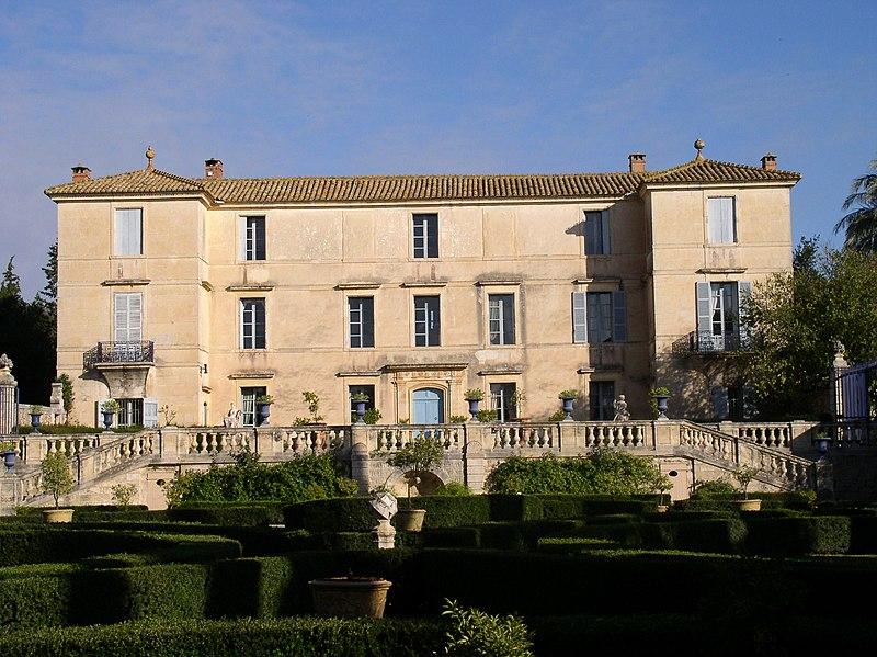 Photo du Monument Historique Domaine du château de Flaugergue situé à Montpellier