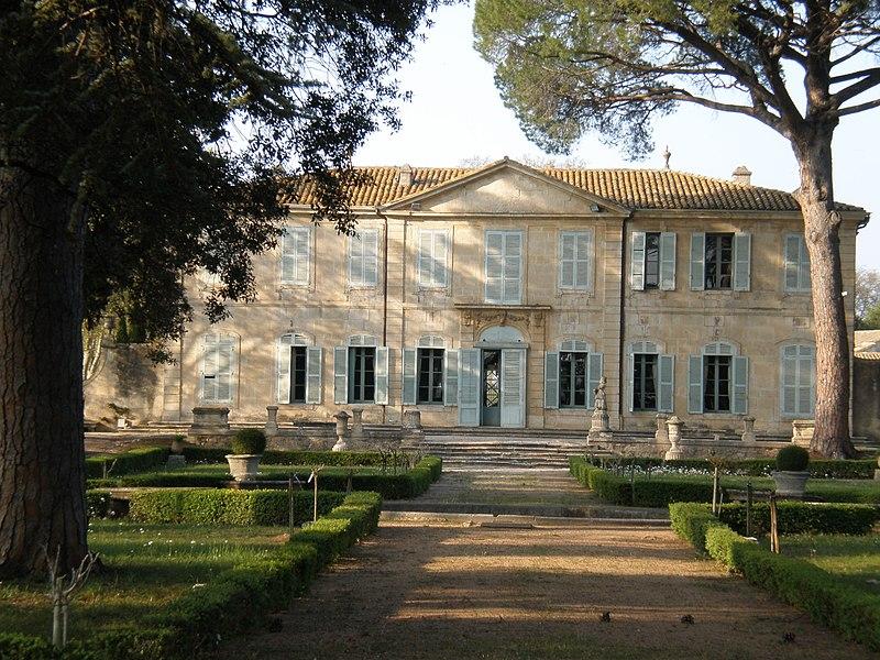Photo du Monument Historique Château de la Mogère situé à Montpellier