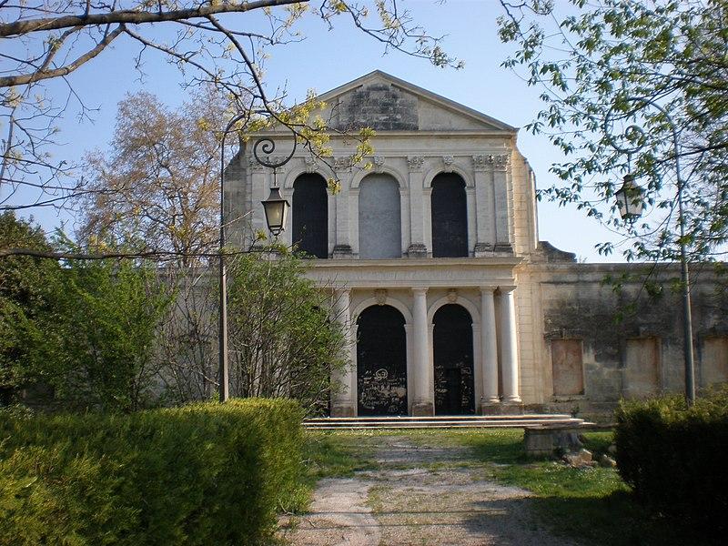 Photo du Monument Historique Domaine du château de Bonnier de la Mosson situé à Montpellier