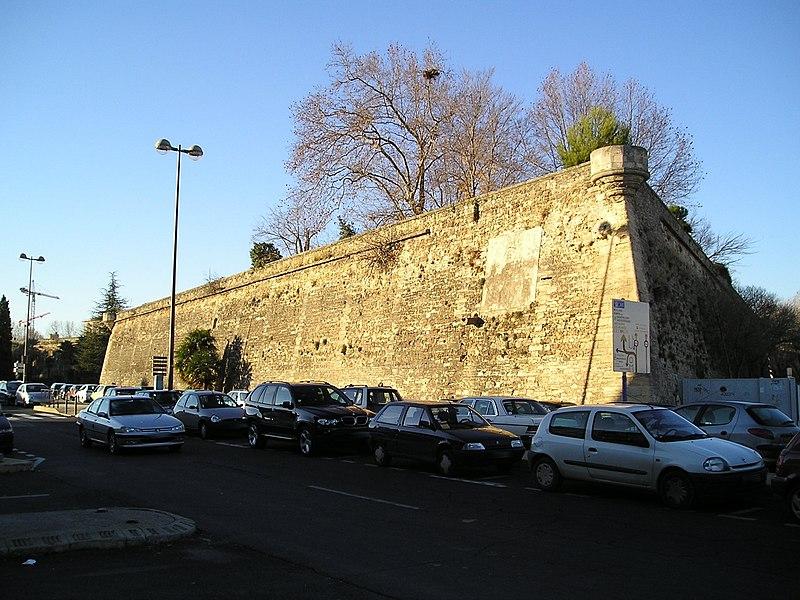 Photo du Monument Historique Citadelle situé à Montpellier
