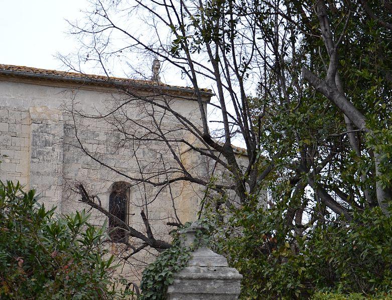 Photo du Monument Historique Ancienne église de Montels situé à Montpellier
