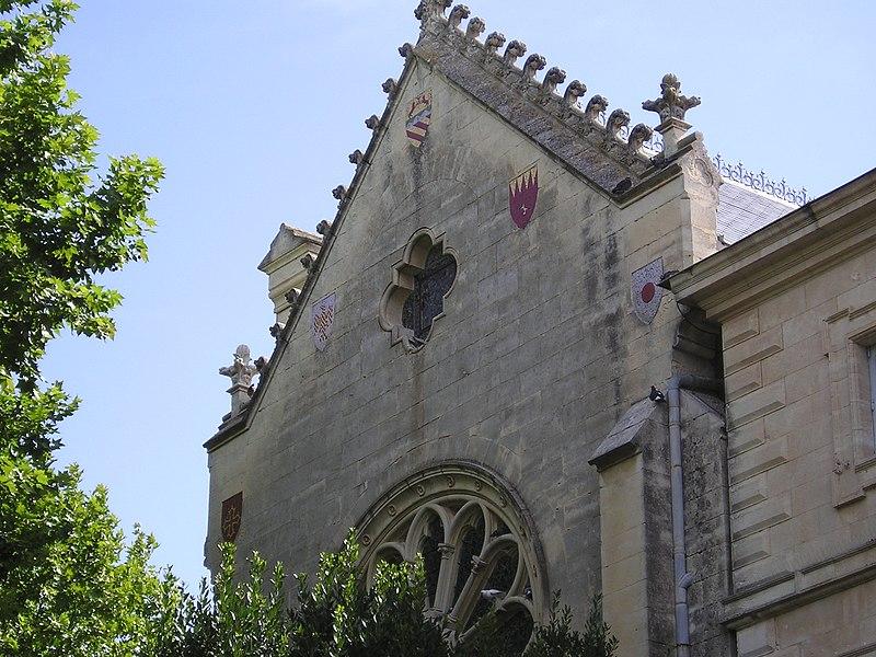 Photo du Monument Historique Ancien prieuré Saint-Pierre de Montaubérou situé à Montpellier