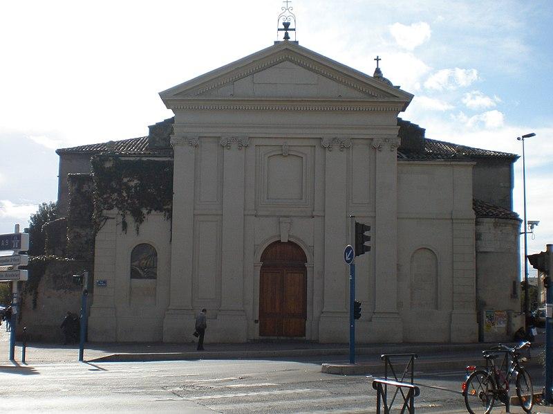 Photo du Monument Historique Eglise Saint-Denis situé à Montpellier